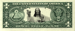 Buddy Jesus Dollar