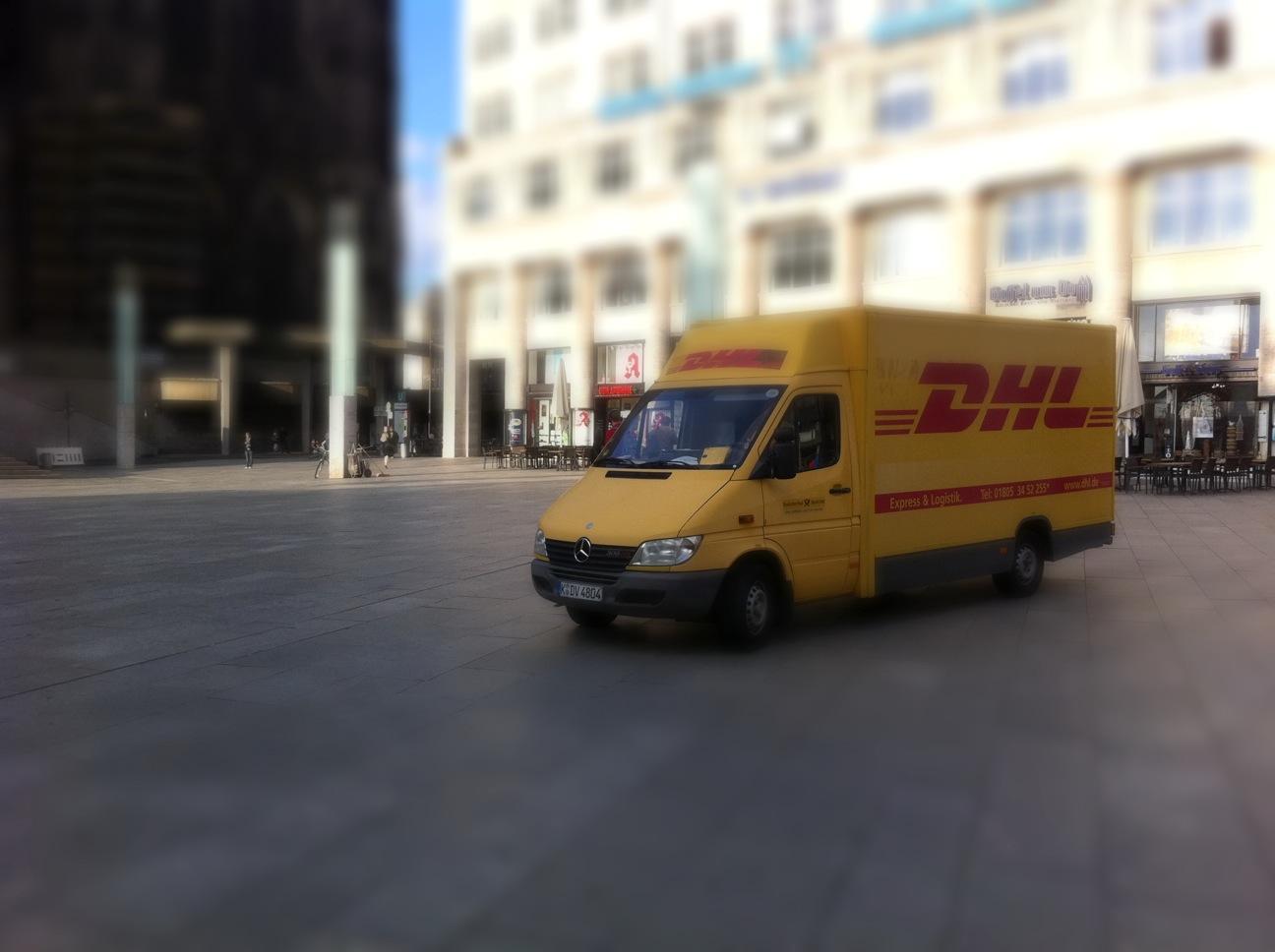 DHL Miniatur