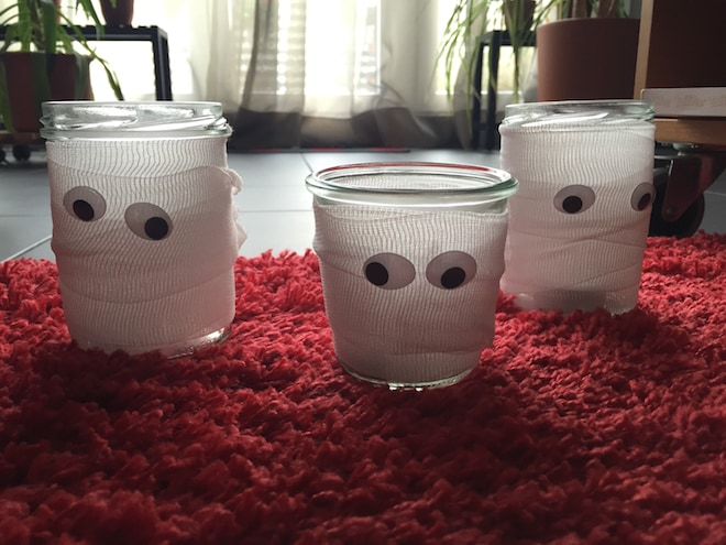 Mumien-Teelichter