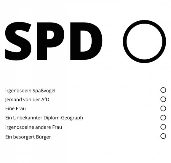 Neue Wahlzettel für Köln