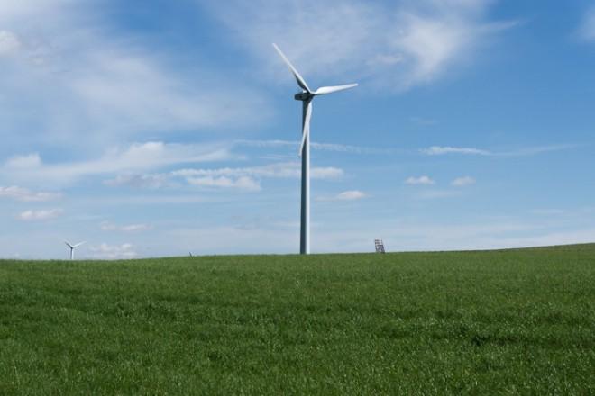 Windrad in Unterleuten