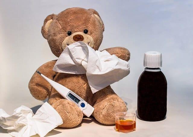 krank sein
