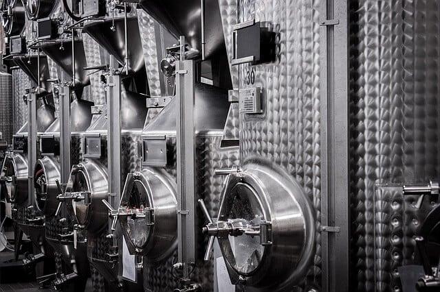 Weinbank zum Schutz der Investition