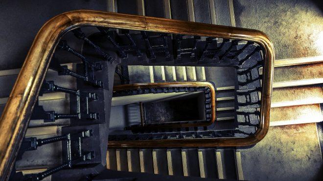 Keine Herausforderung für das Treppenkind