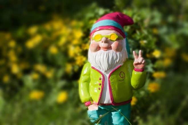 Gartenzwerge sind auch Kunden
