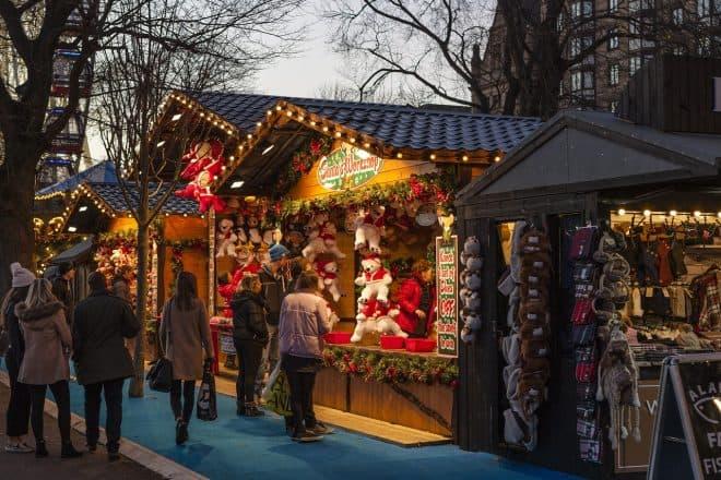 Weihnachtsmarkt und Physik