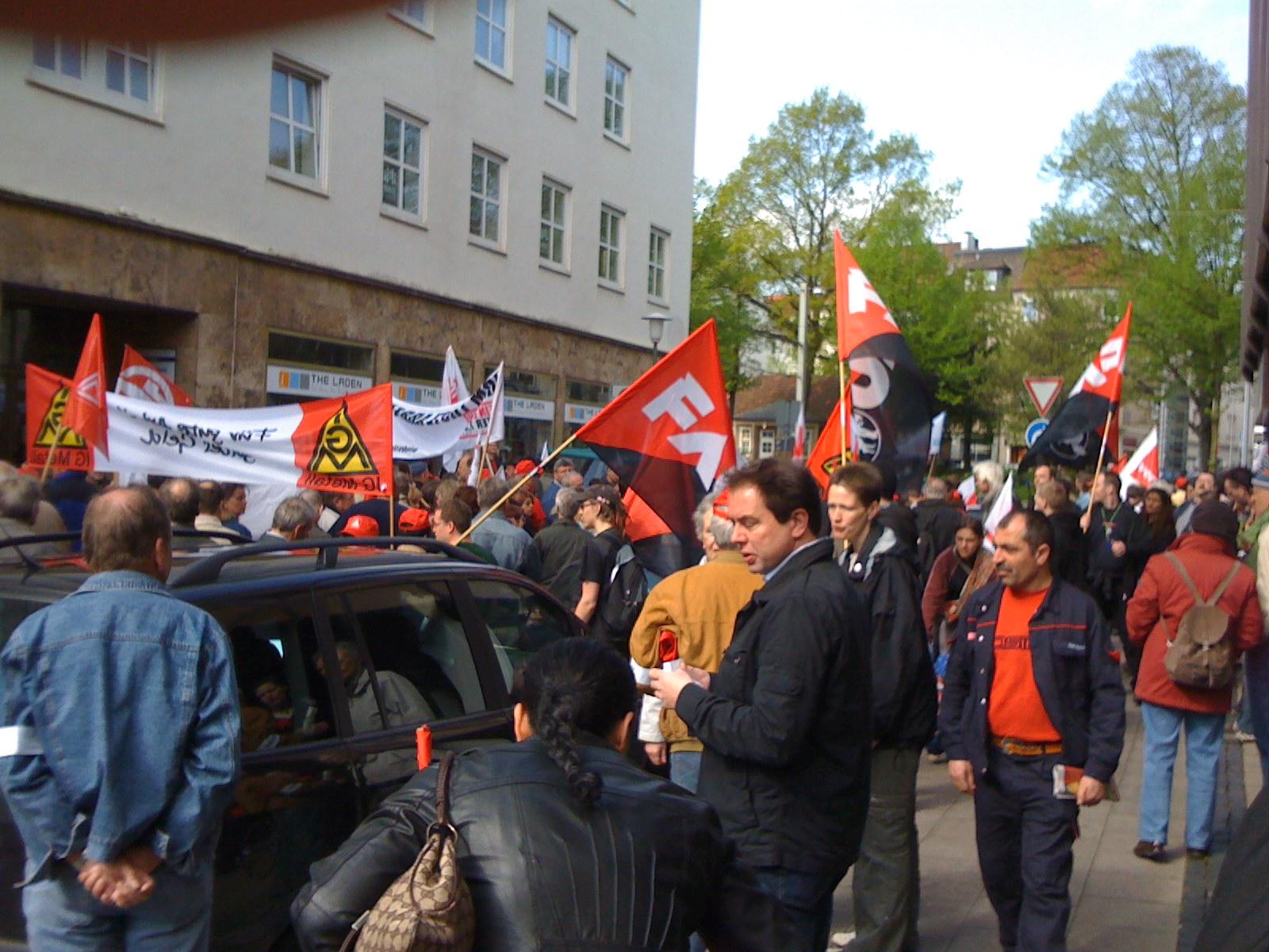 1. Mai in Bielefeld