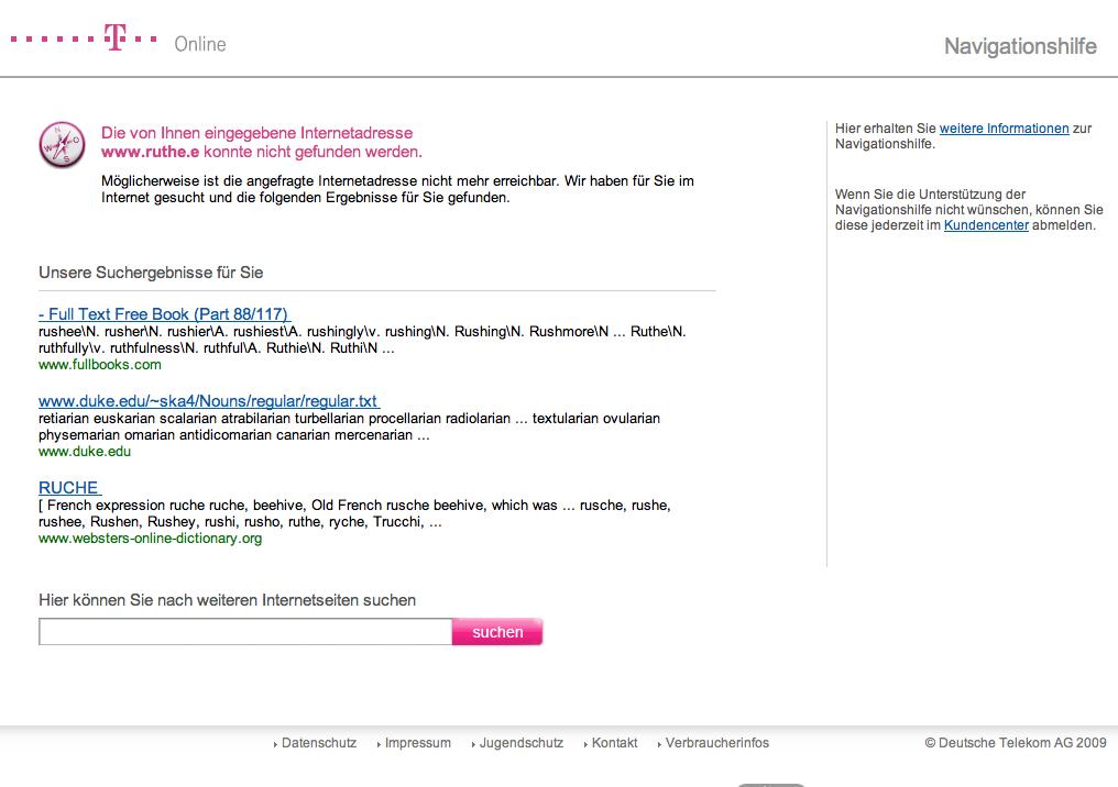 Telekom 404