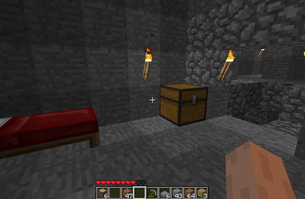 Minecraft bescheidener Start
