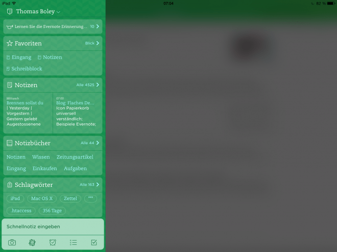 Evernote-iOS7