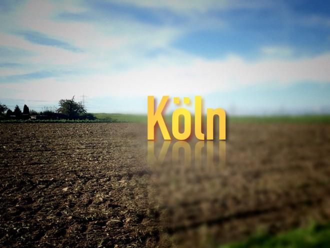 Eher so Köln...