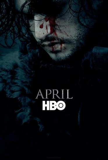 APRIL. #GoTSeason6 #GameOfThrones