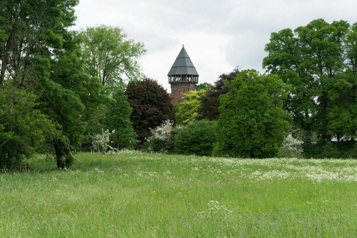 Ein Stück Burg Linn