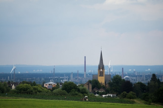 Kurz vor Bornheim