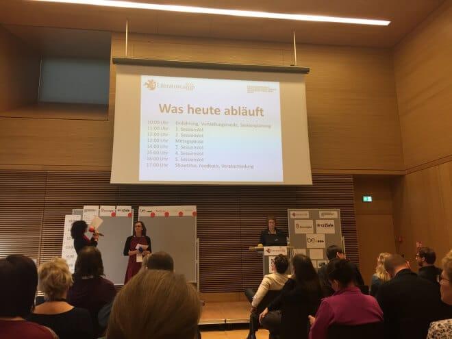 Impressionen vom Literaturcamp in Bonn