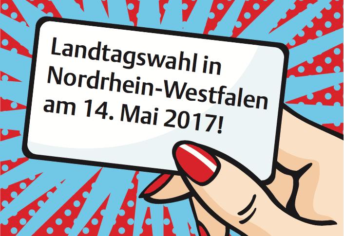 Wahltag in NRW