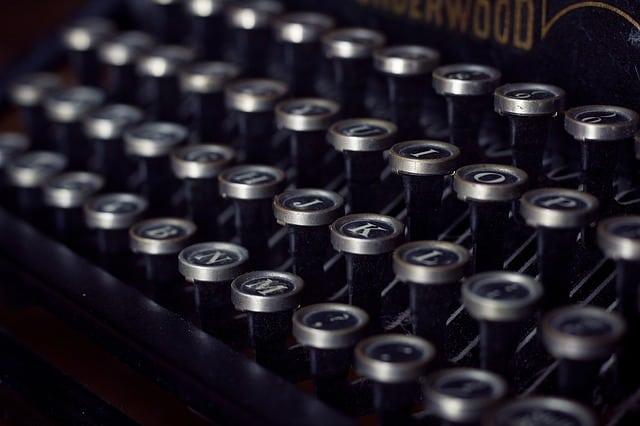 Jerry Lewis und die Schreibmaschine