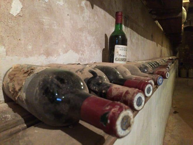 Wein im Keller