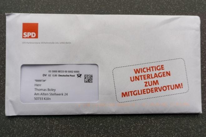 Unschuldiger Umschlag