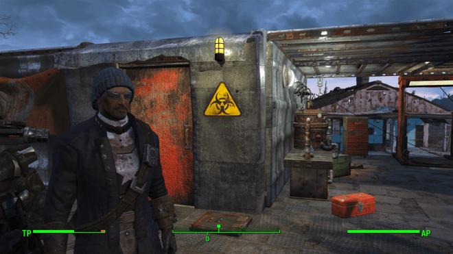 Hancock in Fallout 4