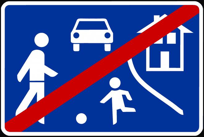 Verkehrsberuhigte Nachbarn
