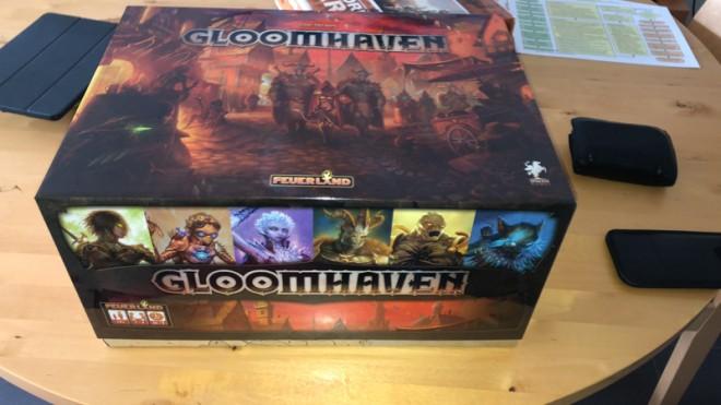 Gloomhaven auf Deutsch