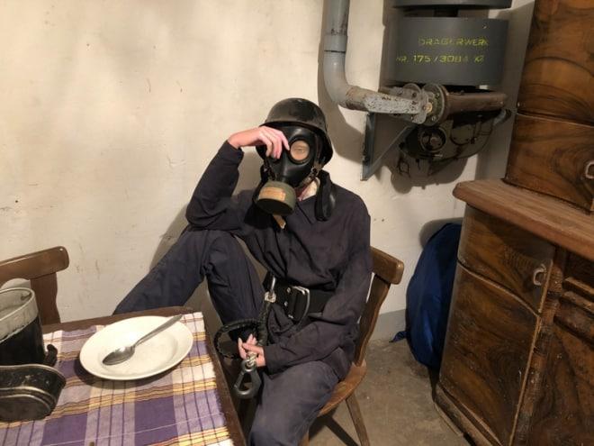 Luftschutzbunker Küche