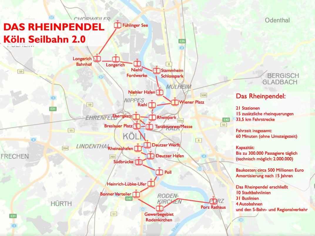 Konzept Seilbahn Rheinpendel