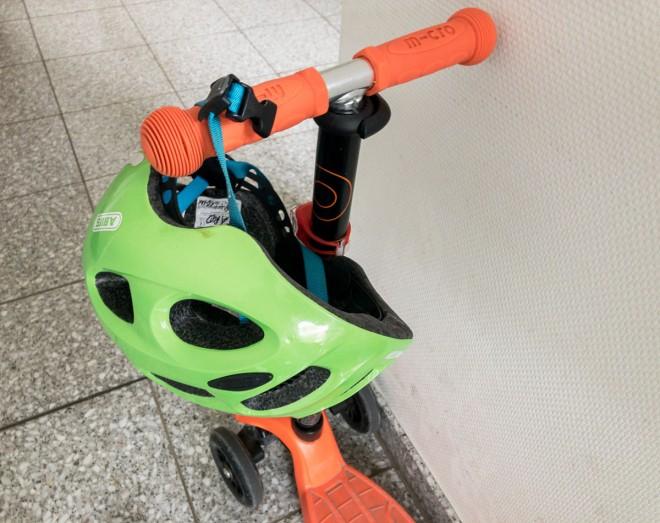 Zu jung für den E-Scooter