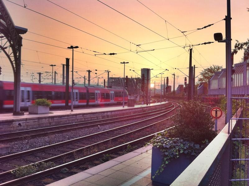 Heiße Tage in Köln