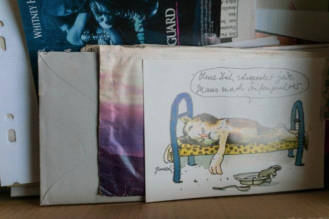 Eine Schachtel voller Briefe
