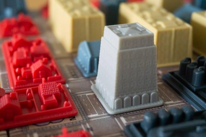 Rathaus im Herzen von Big City