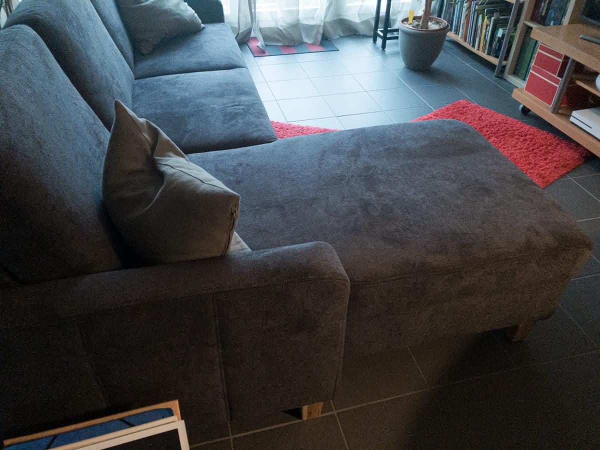 Sofa und Kundenkommunikation