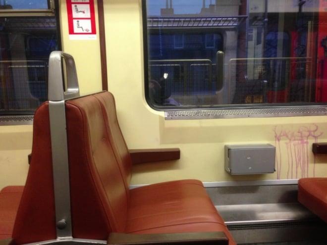 Bahnfrei für dreckige Sitze