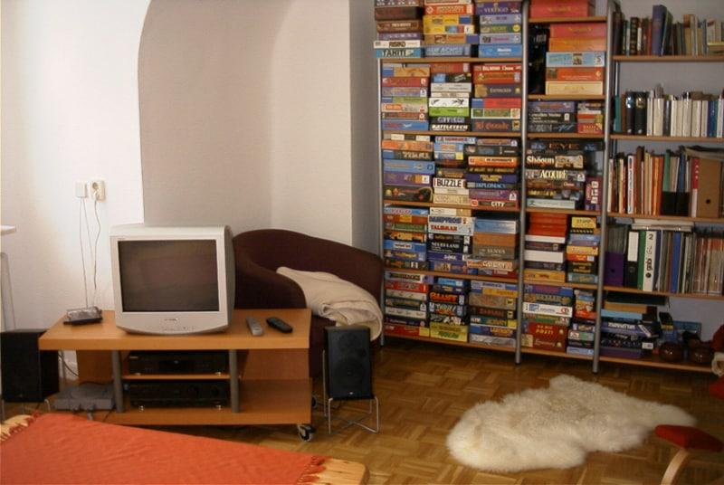 Playstation im Wohnzimmer