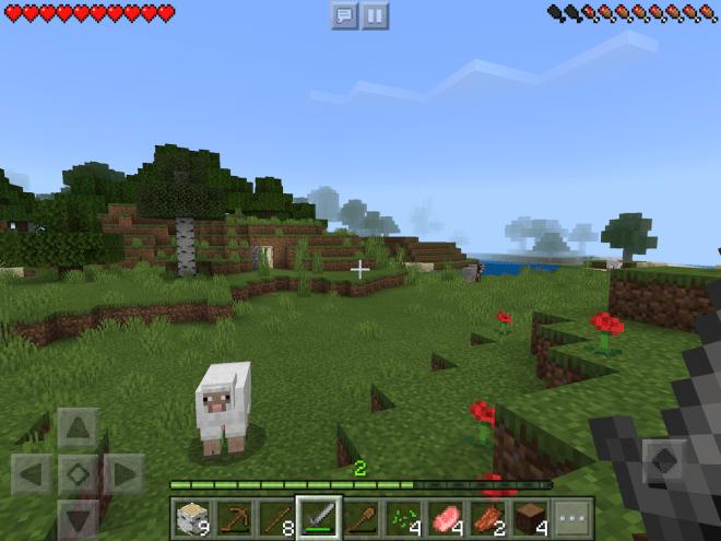 Schafe bei Minecraft