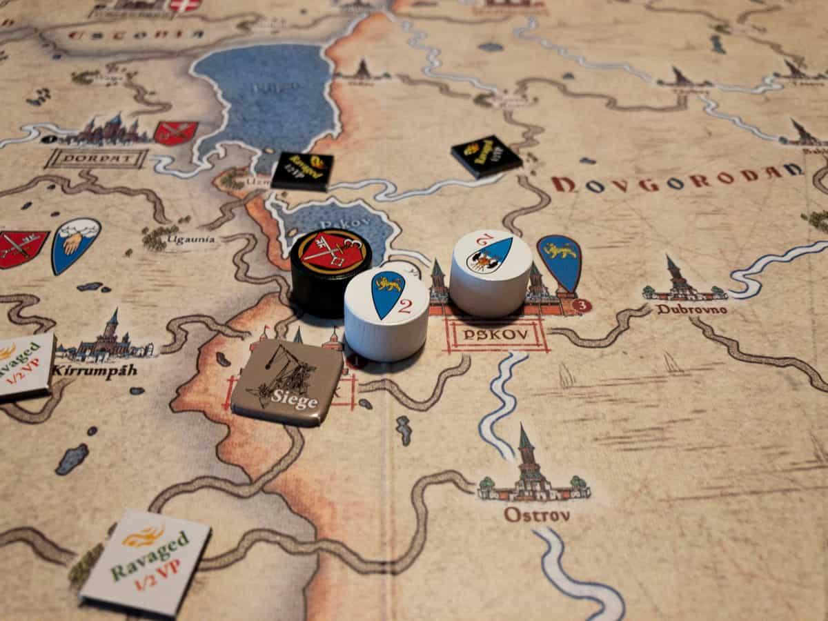 Belagerung bei Nevsky