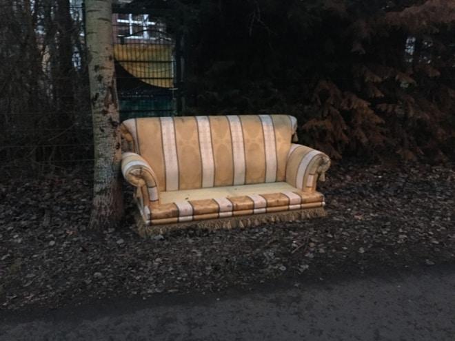 Sitzplatz für Spießbürger