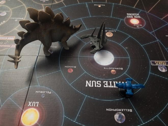 Ertragreich durch Weltraumspiele