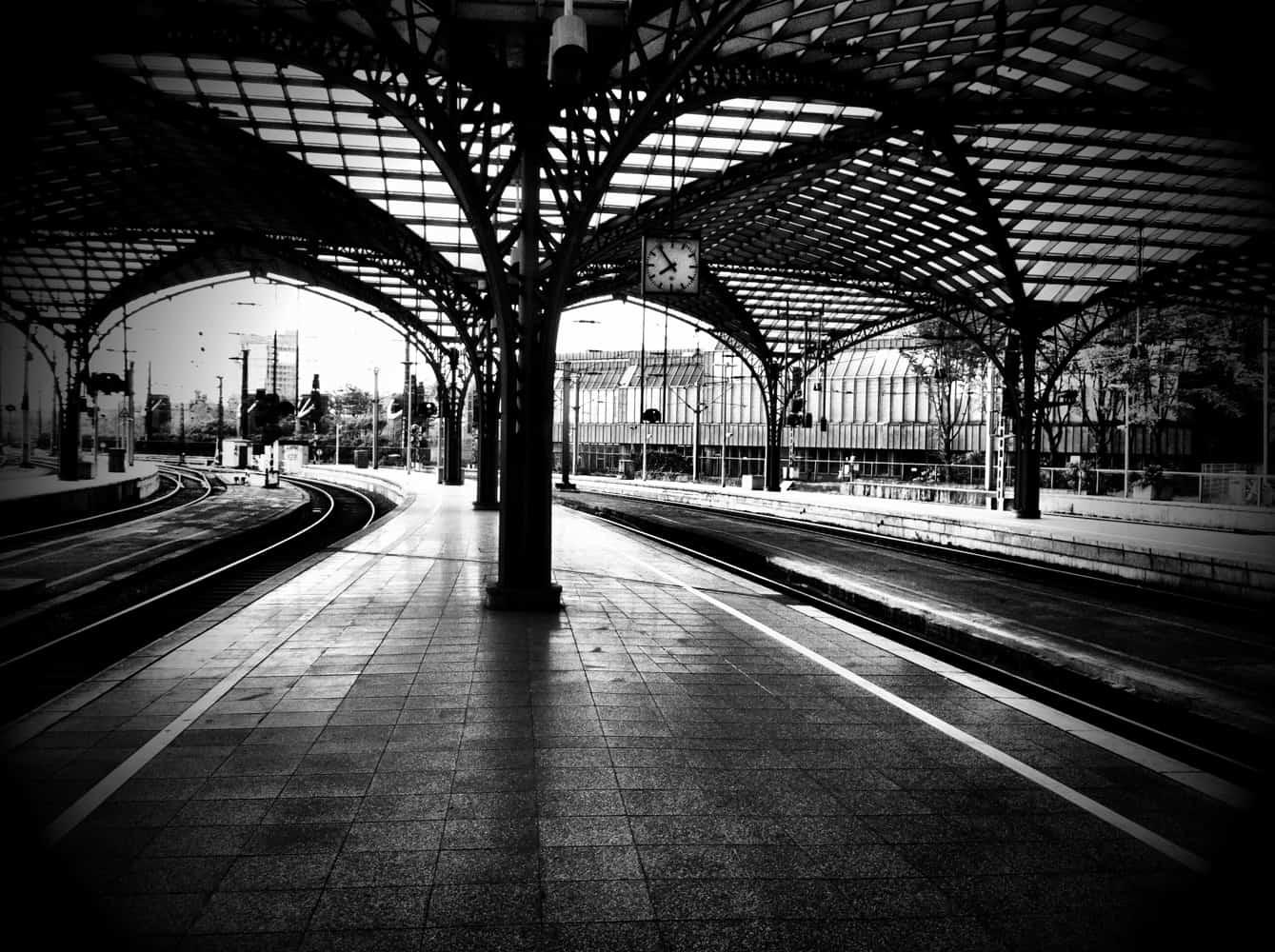 Bald wieder menschenleere Bahnhöfe