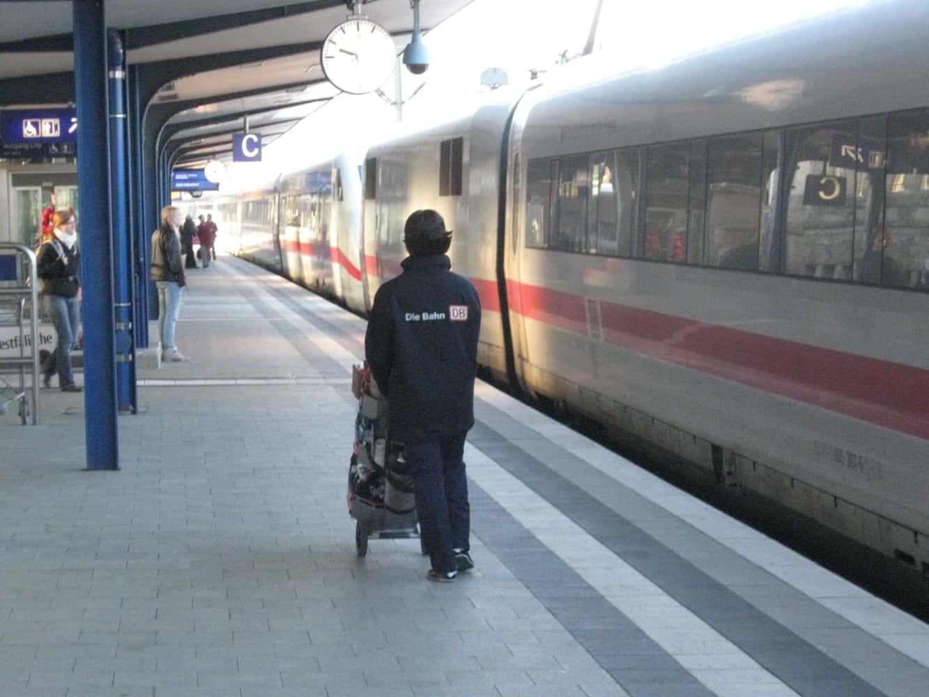 Unterwegs mit der Bahn