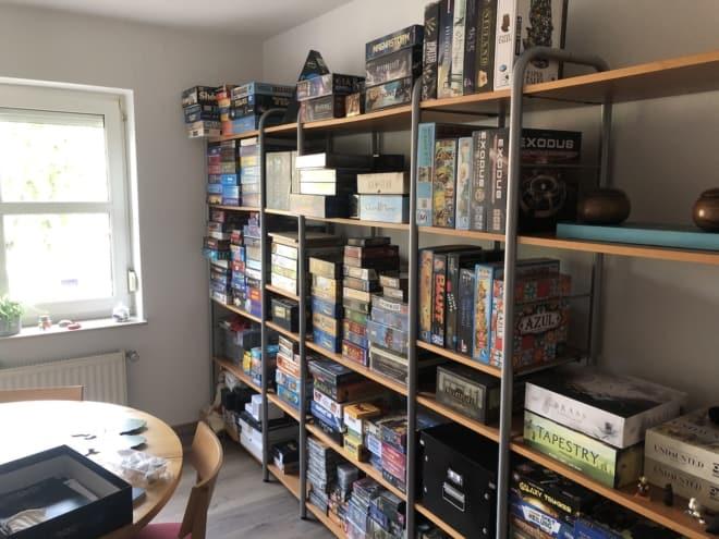 Nach August ein eigenes Spielezimmer