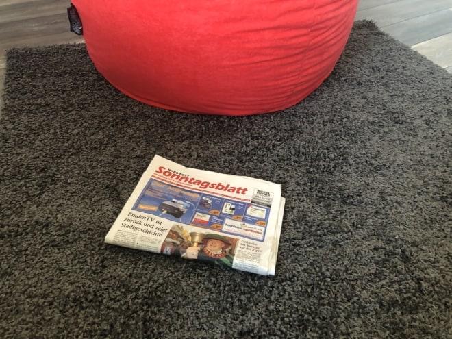 Wochenblatt am Boden