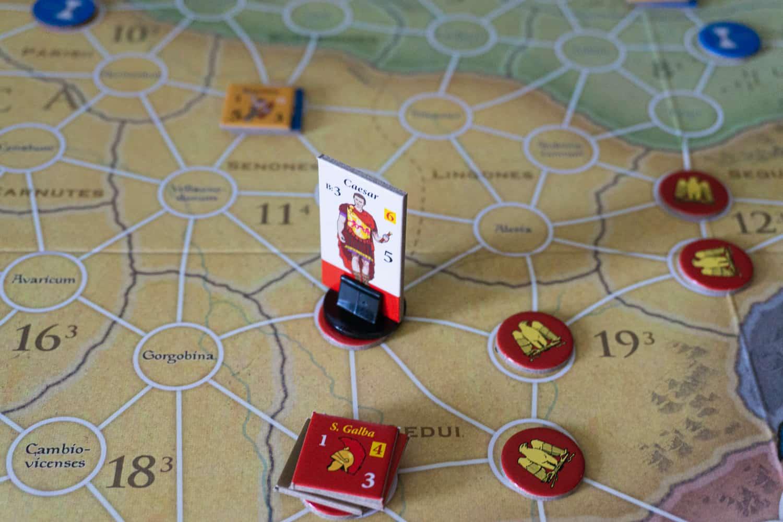 """Spielregeln am Beispiel von Caesar: Rome vs. Gaul"""""""