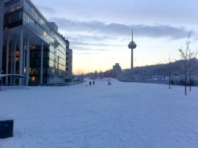 Kleine Eiszeit in Köln