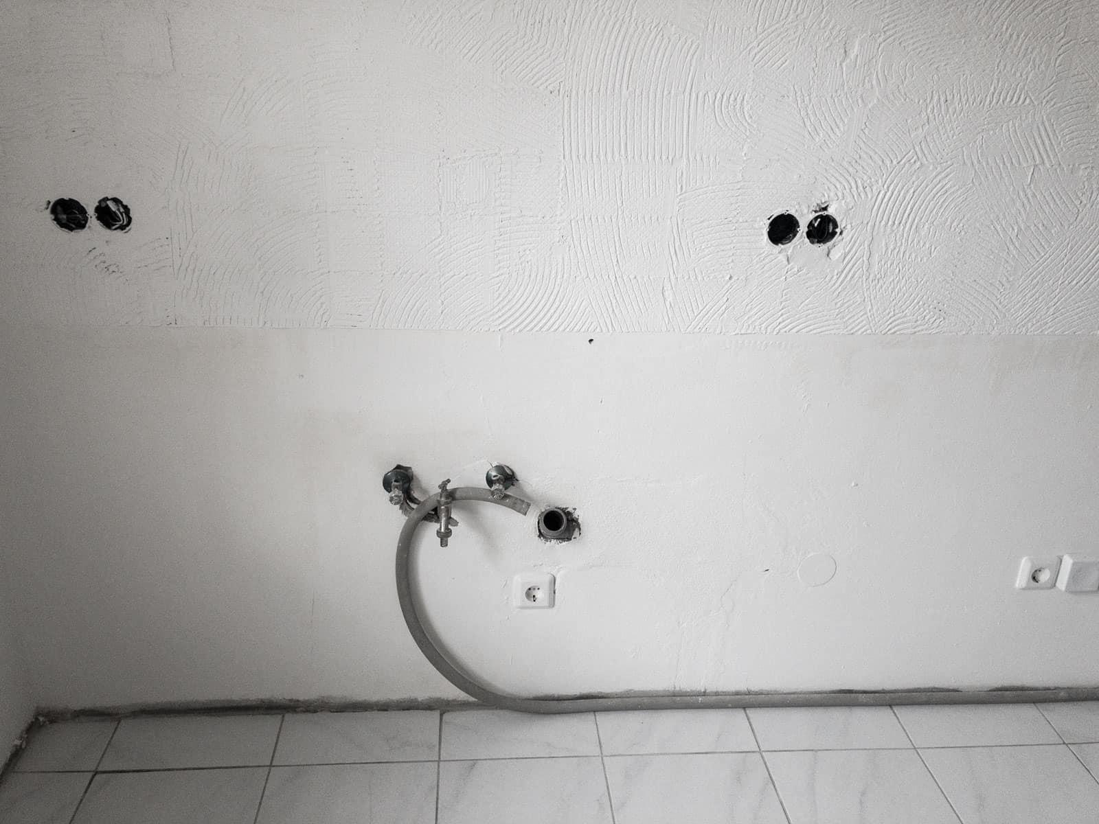 Küche verschwunden