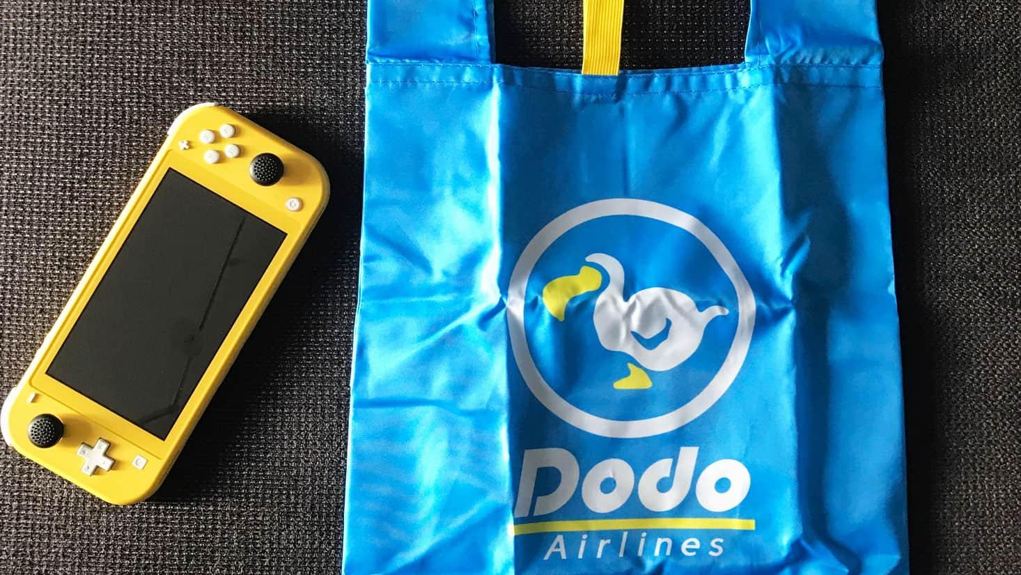 Endstand mit Dodo-Tasche