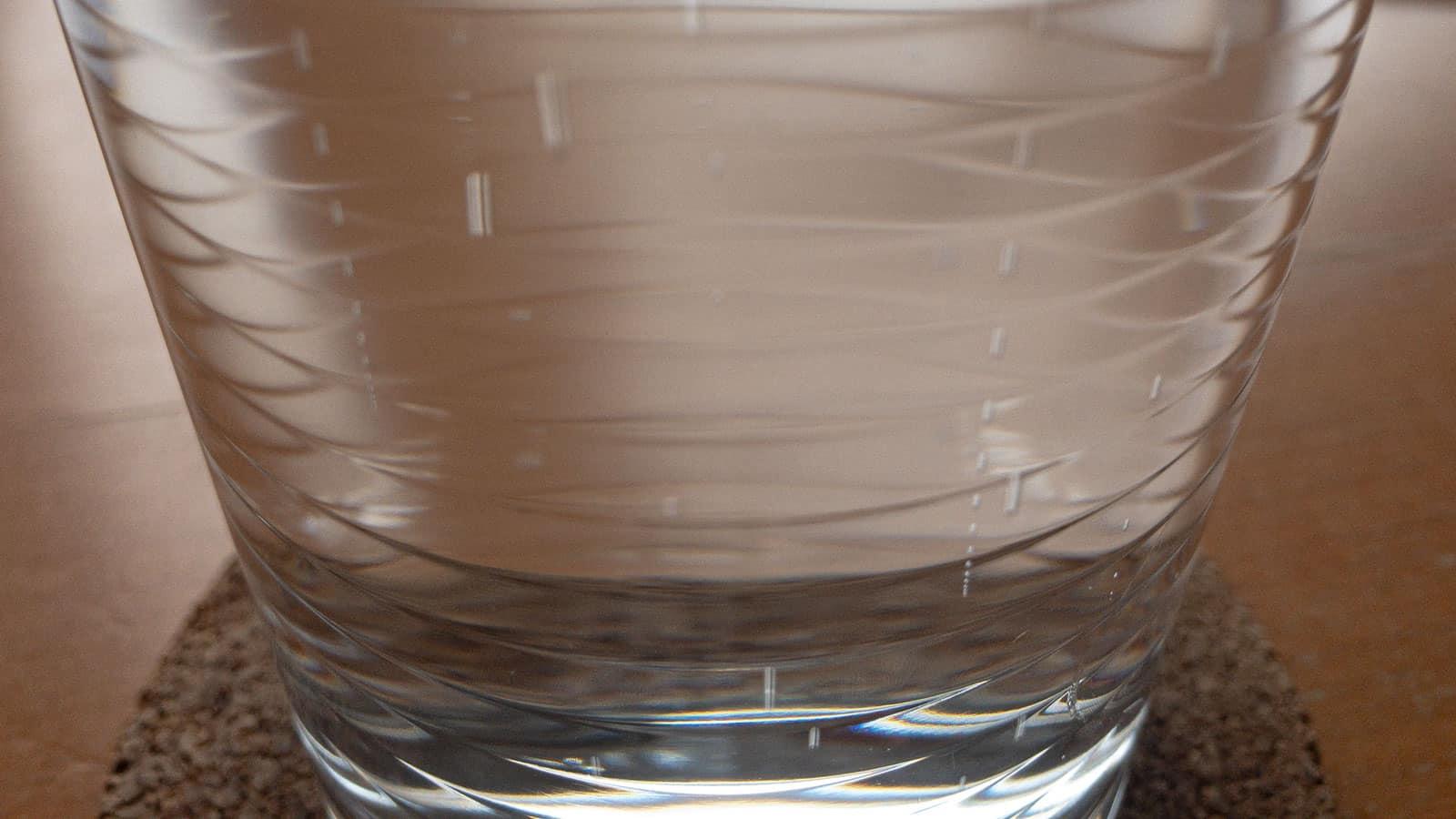 Kein strukturiertes Wasser