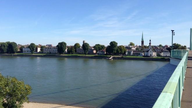 Brückenlockdown aus Kölner Sicht