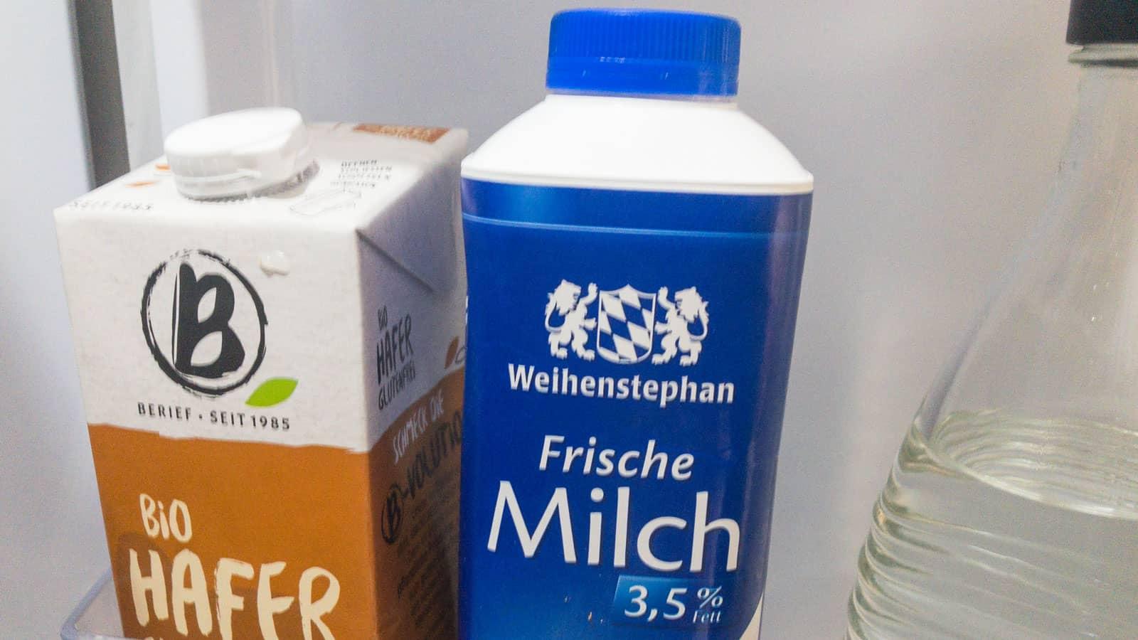 Nur ein ist echte Milch